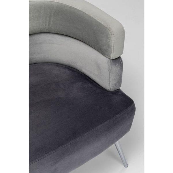 Kare Design Sandwich Grey bank 84781 - Lowik Meubelen