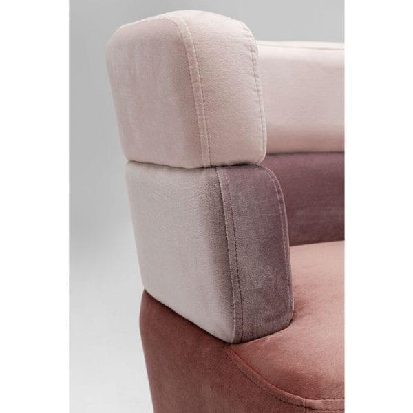 Kare Design Sandwich Mauve bank 84782 - Lowik Meubelen