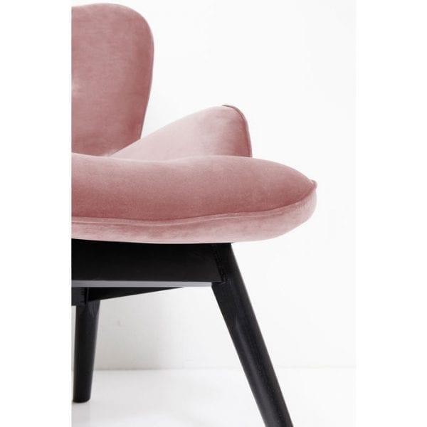 Kare Design Vicky Velvet Rose bank 84430 - Lowik Meubelen