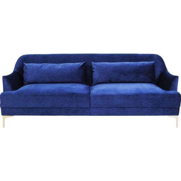 Kare Design Proud Blue 3-Seater bank 82068 - Lowik Meubelen