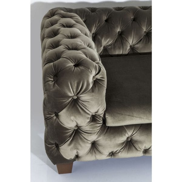 Kare Design Desire Khaki 3-Seater bank 79618 - Lowik Meubelen