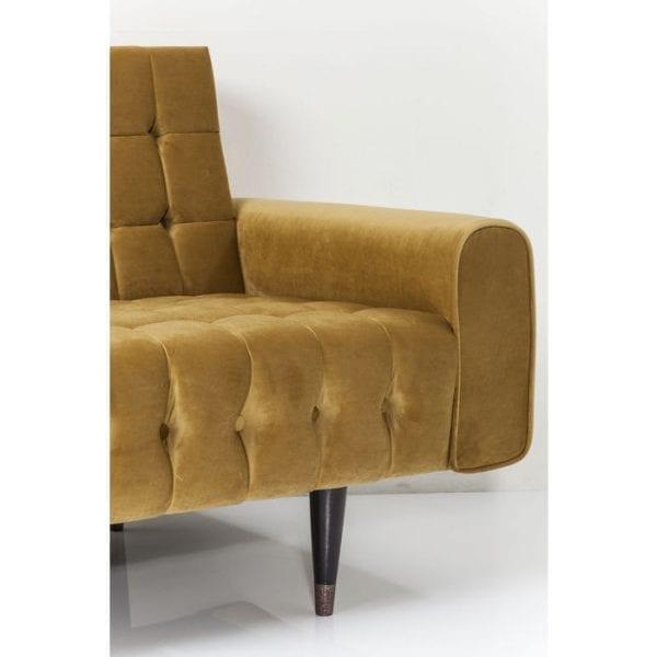 Kare Design Milchbar Velvet Honey 3-Seater bank 81191 - Lowik Meubelen