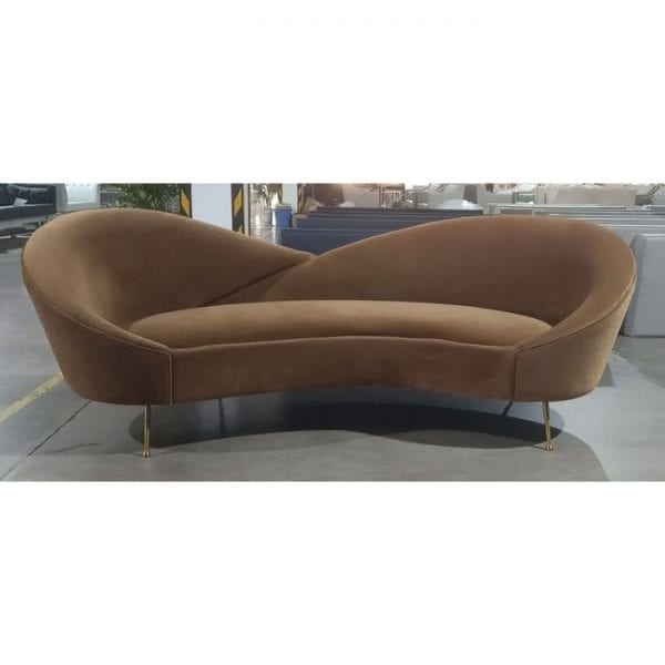 Kare Design 3-Seater Night Fever Light Brown bank 84994 - Lowik Meubelen