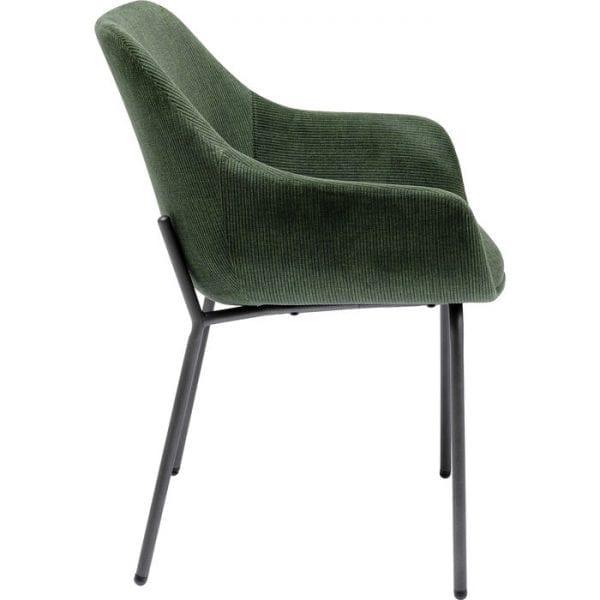 Kare Design Avignon Green armstoel 80021 - Lowik Meubelen
