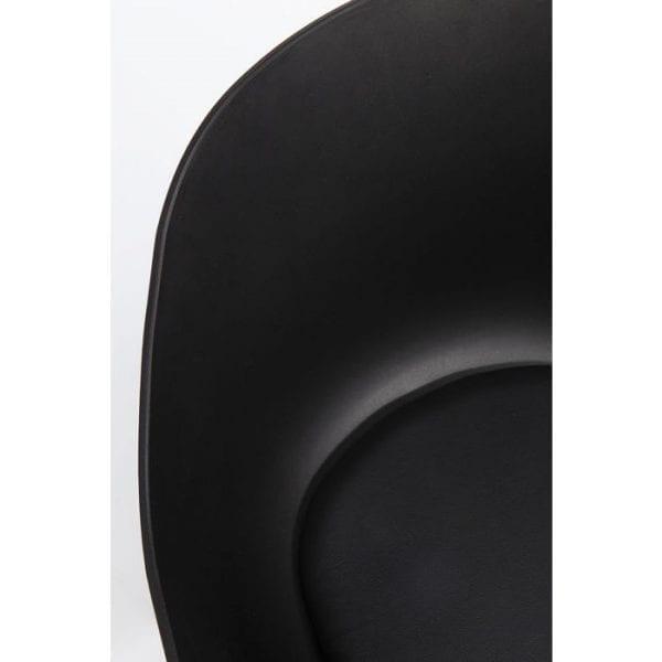 Kare Design Armstoel Brentwood 83864 Materiaal: hoes: 100% polyurethaan gecoat textiel, stoffering: 24 kg / m³ polyurethaan, zitting: polypropyleen, voet / onderstel: staal gepoedercoat, max. 136 kg. laadvermogen, afgeslagen levering, 48 cm zithoogte, onderhoud en reiniging: art. Nr. 25035 Natuurlijke houtonderhoudsolie, art. 25002 Meubelreiniger - Lowik Meubelen