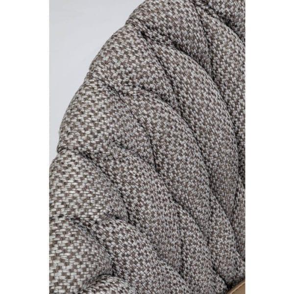 Kare Design Knot Tweed armstoel 84649 - Lowik Meubelen