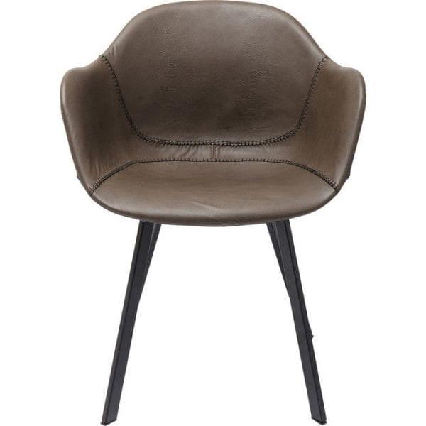 Kare Design Armstoels Lounge Grey 83232 Van aperitief tot nagerecht: de Lounge Gray fauteuil is de perfecte eetkamerstoel! Maar het kan ook op tientallen andere plaatsen worden gebruikt - zoals de vergaderruimte, wachtkamer of bibliotheek. Dit komt door de comfortabele zitschaal. De indrukwekkende combinatie van formele lichtheid en structurele stabiliteit is ook uitstekend. - Lowik Meubelen
