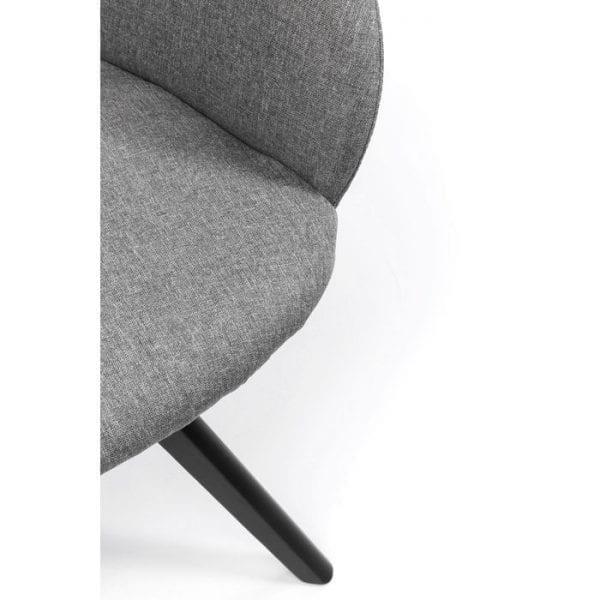 Kare Design Madame Grey draaifauteuil 84513 - Lowik Meubelen