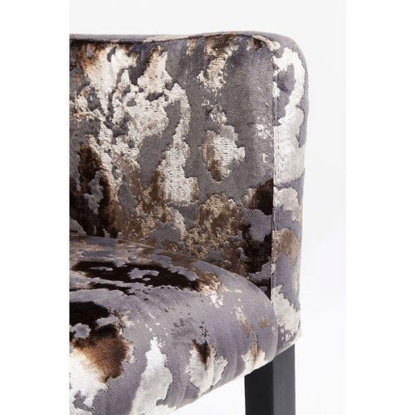 Kare Design Dark Brown Mode Sublime armstoel 84439 - Lowik Meubelen