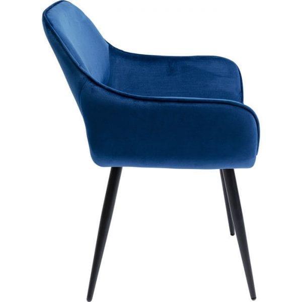 Kare Design San Francisco Blue armstoel 84759 - Lowik Meubelen