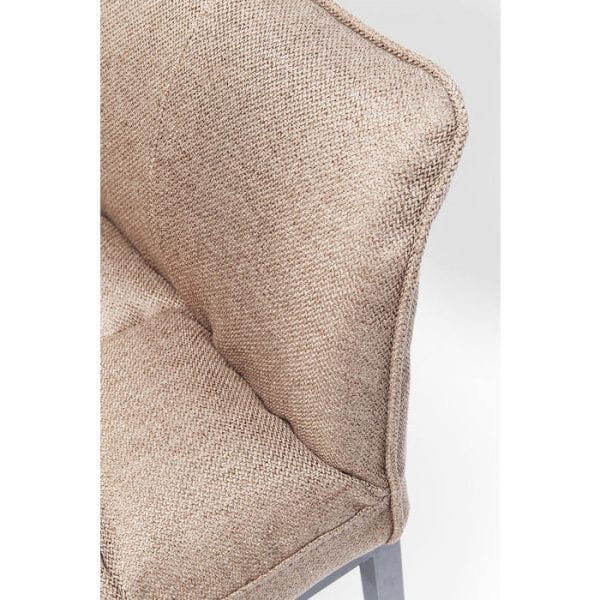 Kare Design Thinktank Light Brown armstoel 84449 - Lowik Meubelen