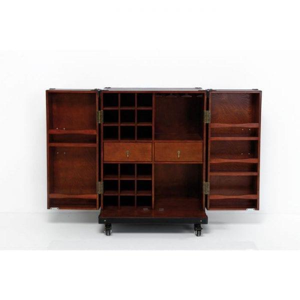 Kare Design Trunk Bar Colonial Medium kledingkast 77066 - Lowik Meubelen