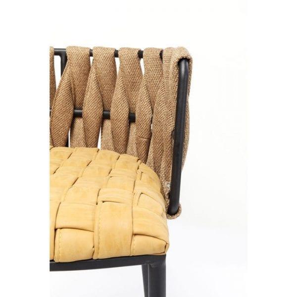 Kare Design Cheerio Yellow barstoel 83642 - Lowik Meubelen
