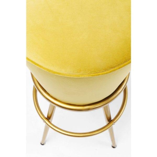 Kare Design Lady Rock Yellow barstoel 84408 - Lowik Meubelen