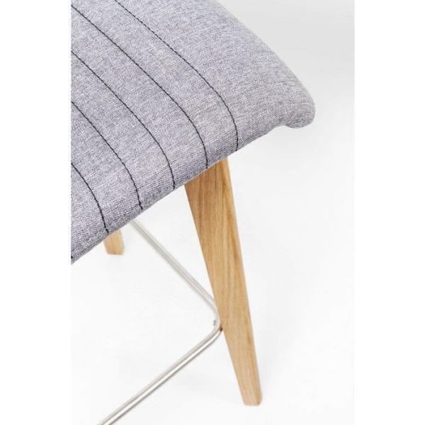 Kare Design LARA Grey barstoel 80876 - Lowik Meubelen
