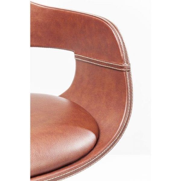 Kare Design Monaco Nougat barstoel 81836 - Lowik Meubelen