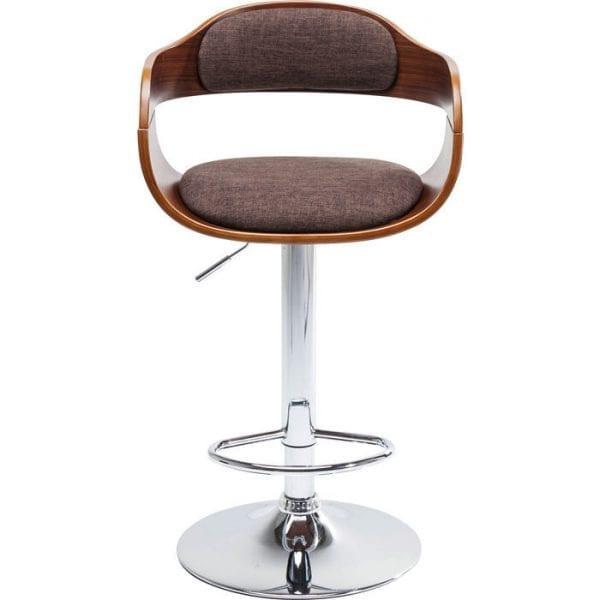 Kare Design Monaco Schoko barstoel 81833 - Lowik Meubelen