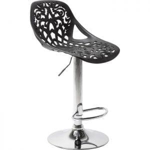 Kare Design Ornament Black barstoel 76860 - Lowik Meubelen