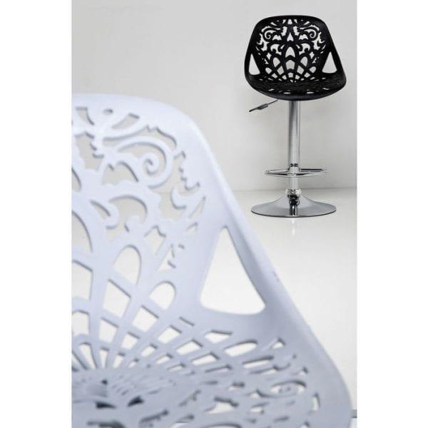 Kare Design Ornament White barstoel 76859 - Lowik Meubelen