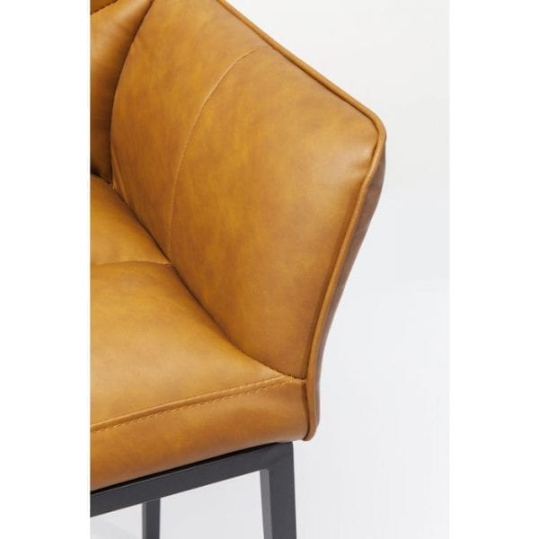 Kare Design Thinktank Quattro Brown barstoel 83639 - Lowik Meubelen