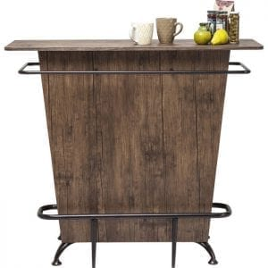 Kare Design Lady Rock Walnut bar 80678 - Lowik Meubelen