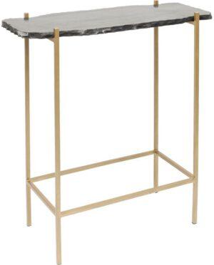 Kare Design Piedra Black 60x30cm bartafel 83509 - Lowik Meubelen