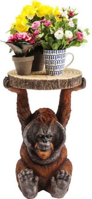 Kare Design Animal Orang Utan 35x33cm bijzettafel 82356 - Lowik Meubelen