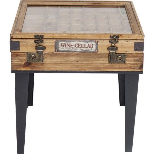 tafel Bijzettafel Collector 55x55cm Kare Design tafels - 83460 - Lowik Meubelen