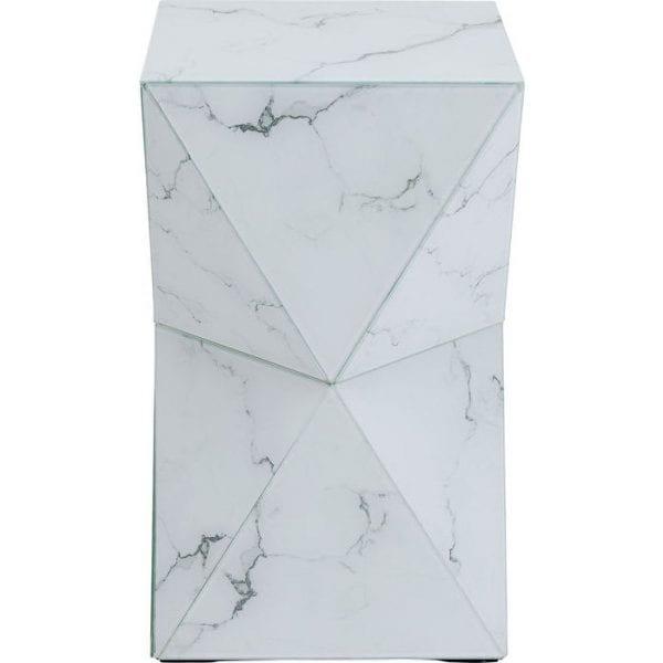 Kare Design Luxury Triangle Marble bijzettafel 84762 - Lowik Meubelen