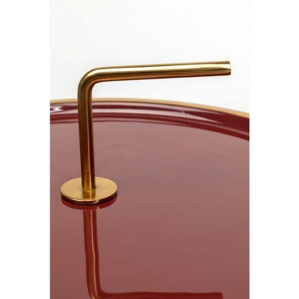 Kare Design Miami Red bijzettafel 84718 - Lowik Meubelen