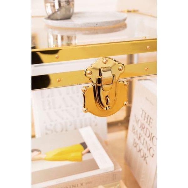 tafel Bijzettafel Trunk Storage Gala Kare Design tafels - 84121 - Lowik Meubelen