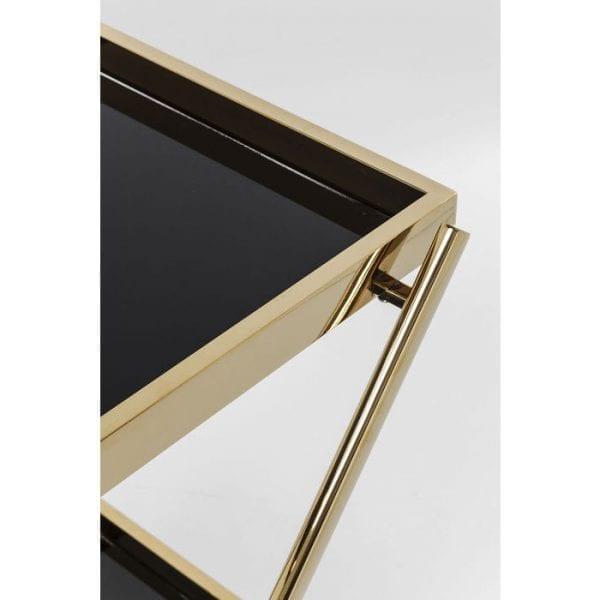 Kare Design Tafel Casino Gold tray 81385 - Lowik Meubelen