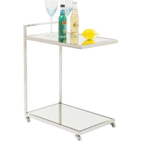 Kare Design Tafel Classy Chrome tray 82667 - Lowik Meubelen