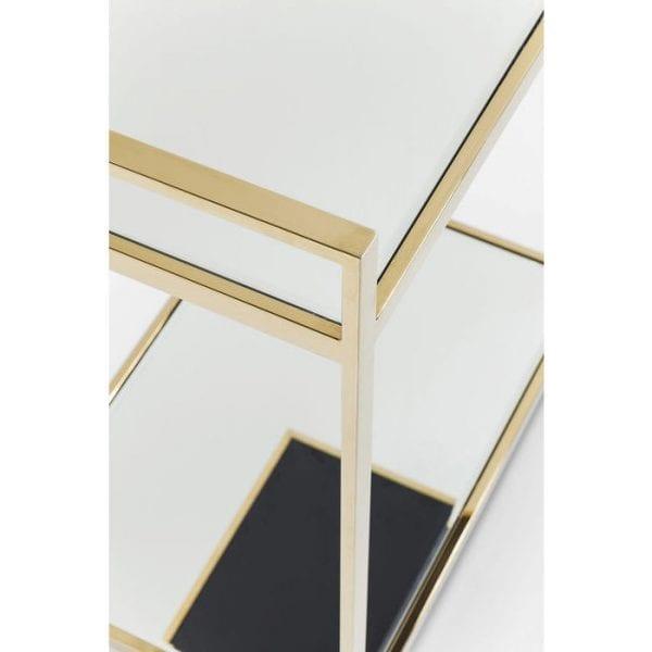 Kare Design Tafel Classy Gold tray 81428 - Lowik Meubelen