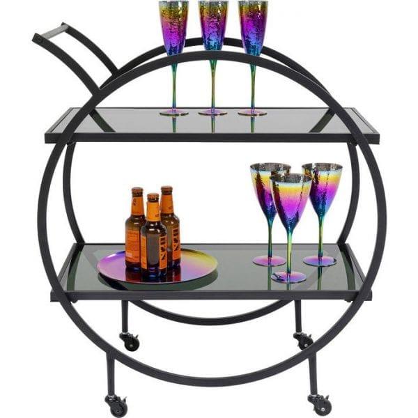 Kare Design Tafel Loft Black tray 84545 - Lowik Meubelen