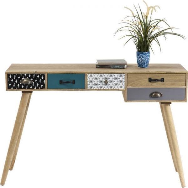 tafel Bureau Capri 118x40cm Kare Design tafels - 80999 - Lowik Meubelen