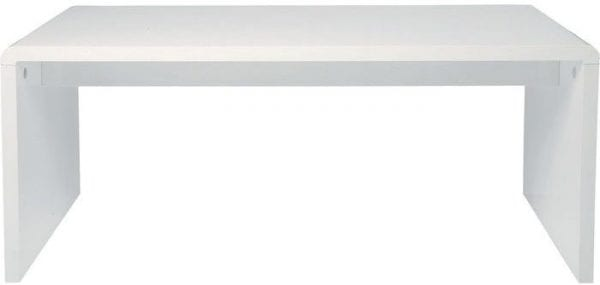 tafel White Club Bureau 180x85 (KD) Kare Design tafels - 74181 - Lowik Meubelen