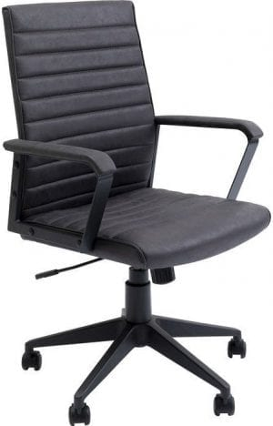 Kare Design Labora Black bureaustoel 84740 - Lowik Meubelen