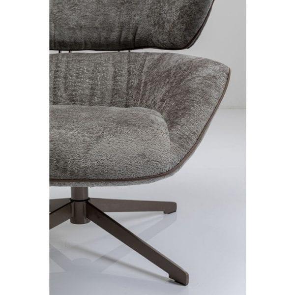 Kare Design Oval Office draaistoel 84725 - Lowik Meubelen