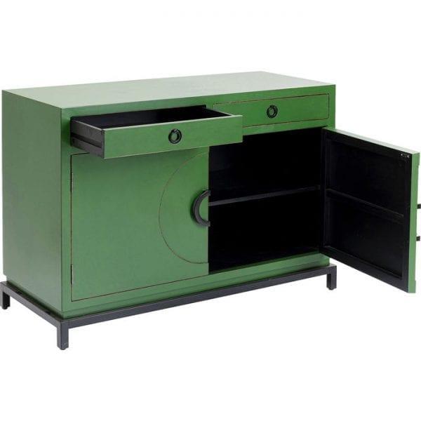 Kare Design Disk Green 2 Doors dressoir 85047 - Lowik Meubelen