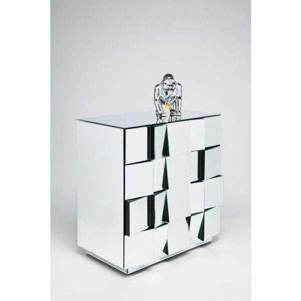 Kare Design Illusion Big 4 Drawers dressoir 76591 - Lowik Meubelen