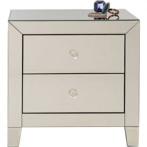 Kare Design Small Luxury Champagne 2 Drawers dressoir 83890 - Lowik Meubelen