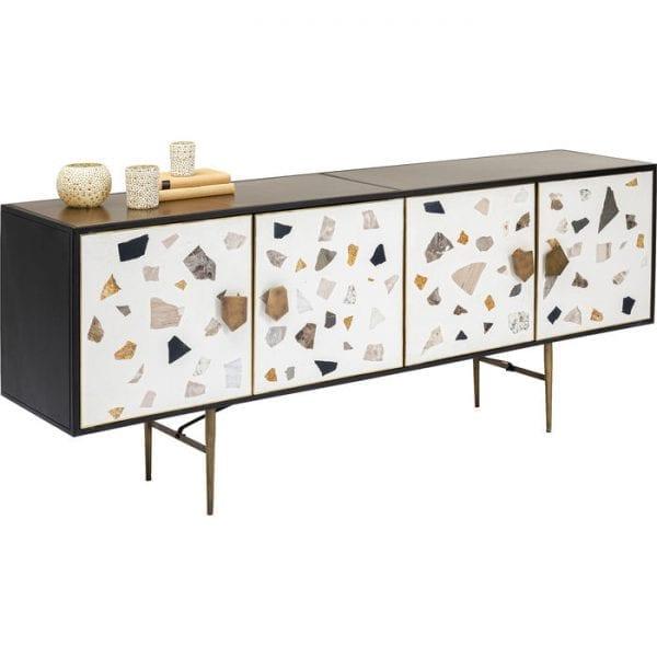 Kare Design Terrazzo 183cm dressoir 85152 - Lowik Meubelen