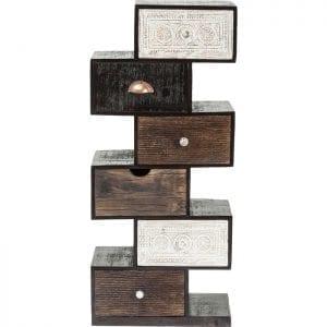 Kare Design Zick Zack Finca 6Drw. dressoir 80183 - Lowik Meubelen