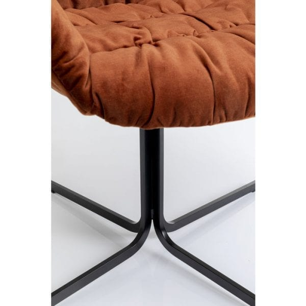 Kare Design Colmar Red draaistoel 80044 - Lowik Meubelen