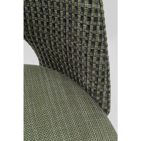 Kare Design Hudson Green eetstoel 80005 - Lowik Meubelen