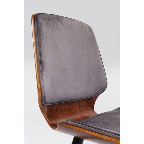 Kare Design Gigi Grey stoel 80982 - Lowik Meubelen