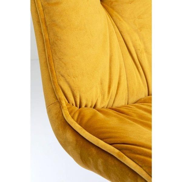 Kare Design Mila Yellow stoel 84853 - Lowik Meubelen