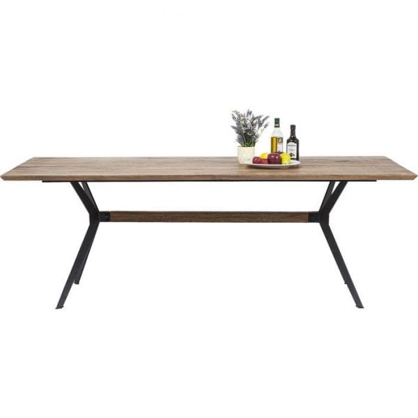 tafel Tafel Downtown 220x100cm Kare Design tafels - 80759 - Lowik Meubelen