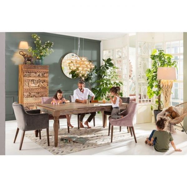 tafel Tafel Duld Range 220x100cm Kare Design tafels - 79214 - Lowik Meubelen